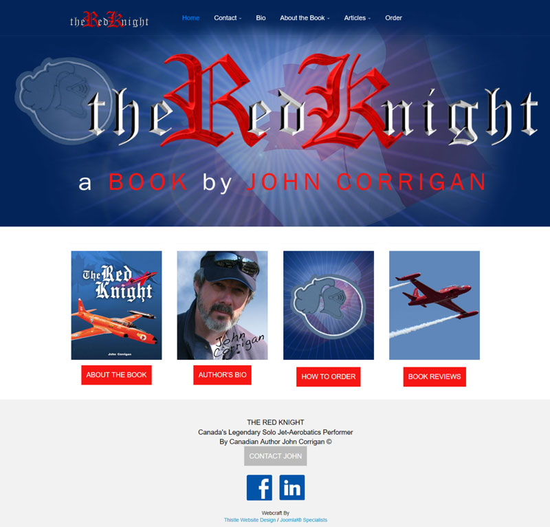 The Red Knight a Book By John Corrigan